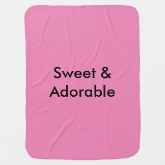 Cobertor Para Bebe Doce & adorável