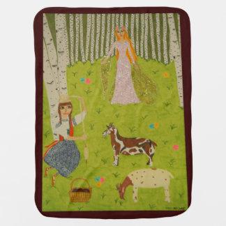 Cobertor Para Bebe Donzela de madeira
