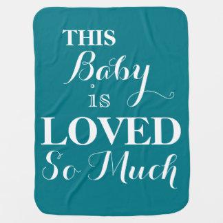 Cobertor Para Bebe Este bebê é tanto cobertura amada do bebê azul