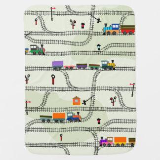 Cobertor Para Bebe Estrada de ferro