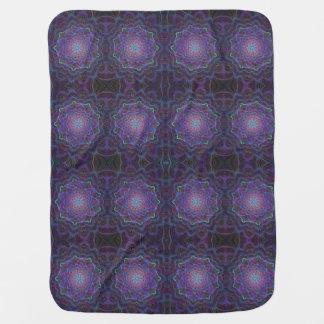 Cobertor Para Bebe Flor de Chakra, boho, idade nova, espiritual
