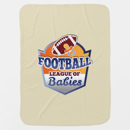 Cobertor Para Bebe Football | League of Babies