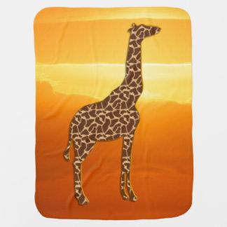 Cobertor Para Bebe Girafa 2