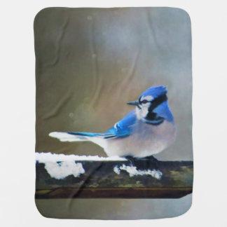 Cobertor Para Bebe Jay azul