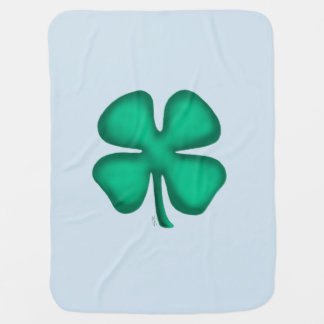 Cobertor Para Bebe Lado irlandês da cobertura de azuis bebés 2 do