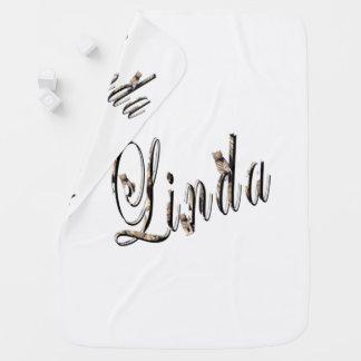 Cobertor Para Bebe Linda, nome, logotipo, do branco cobertura do bebê