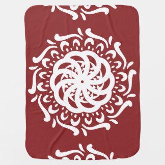 Cobertor Para Bebe Mandala do arando