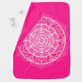 Cobertor Para Bebe Mandala do Foxglove
