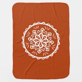 Cobertor Para Bebe Mandala do Henna