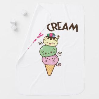 Cobertor Para Bebe Micecream (sorvete)