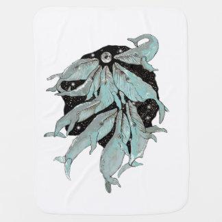 Cobertor Para Bebe Navegação da baleia