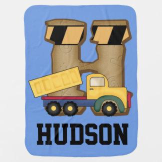 Cobertor Para Bebe Os presentes personalizados de Hudson