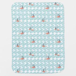 Cobertor Para Bebe Pesca para estrelas
