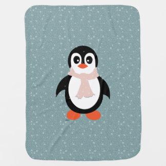 Cobertor Para Bebe Pinguim geral do bebé na agitação