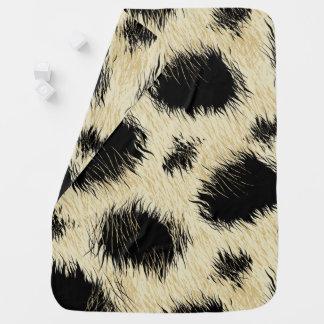 Cobertor Para Bebe Pontos do leopardo