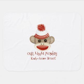 Cobertor Para Bebe Presentes retros do bebé do boné de meia de w do
