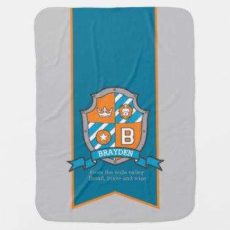 Cobertor Para Bebe Rotule a cobertura conhecida feita sob encomenda