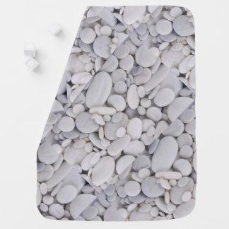 Cobertor Para Bebe Seixos, rochas, fundo