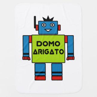 Cobertor Para Bebe Sr. Roboto Bebê Cobertura de Domo Arigato