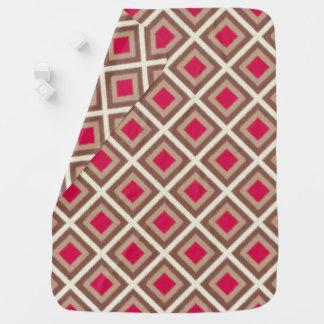 Cobertor Para Bebe Taupe, Taupe claro, diamantes STaylor de Ikat do