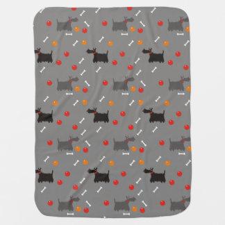 Cobertor Para Bebe Terrier escocês