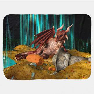 Cobertor Para Bebe Tesouro do dragão