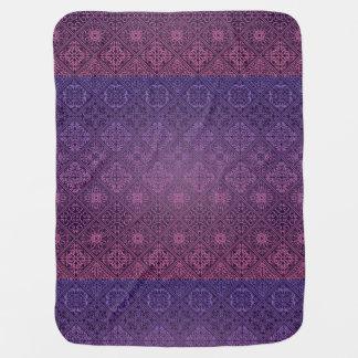 Cobertor Para Bebe Teste padrão antigo real luxuoso floral
