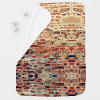 Cobertor Para Bebe Teste padrão da parede de tijolo