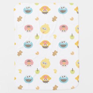 Cobertor Para Bebe Teste padrão peludo do caráter dos amigos do