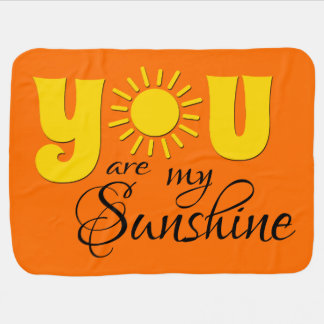Cobertor Para Bebe Você é minha luz do sol