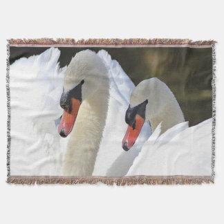 Cobertor Pares da cisne muda