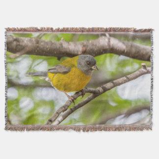 Cobertor Pássaro amarelo