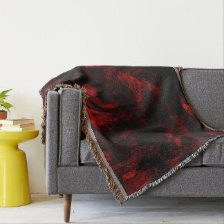 Cobertor Pele vermelha do dragão