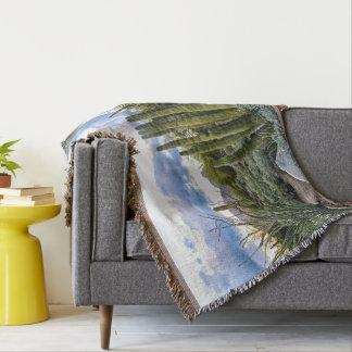 Cobertor Por do sol do Succulent de Scottsdale