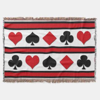 Cobertor Quatro ternos do cartão