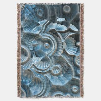 Cobertor Reflexões de um fóssil do Fractal