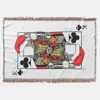 Cobertor Rei do Feliz Natal dos clubes - adicione suas