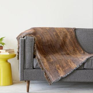 Cobertor revestimento de madeira