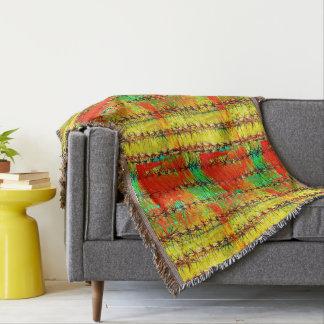 Cobertor Saguaro na cobertura do lance da pintura