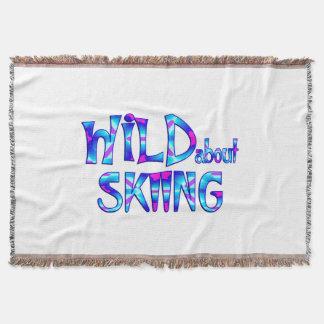 Cobertor Selvagem sobre o esqui