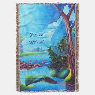 Cobertor Série do PLANETA da ÁGUA por Leomariano