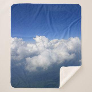 Cobertor Sherpa acima das nuvens 03