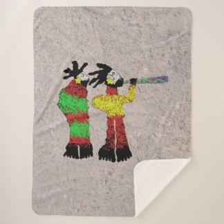 Cobertor Sherpa Aprendiz dos Shamans