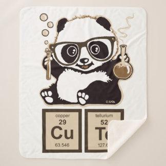 Cobertor Sherpa Bonito descoberto panda da química