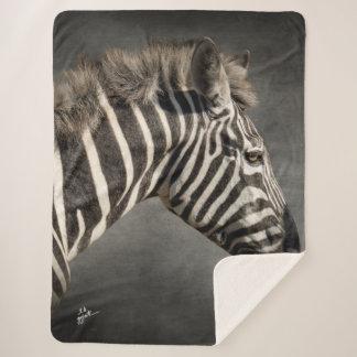 Cobertor Sherpa Chique animal do impressão da arte da foto da