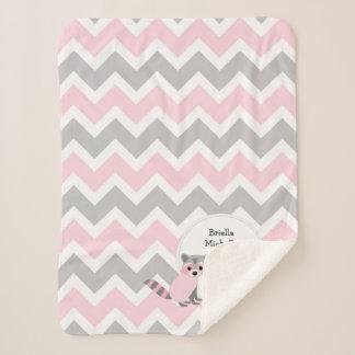 Cobertor Sherpa Cobertura animal do stats do nascimento do bebé da