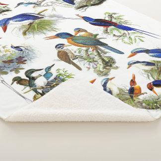 Cobertor Sherpa Cobertura de Sherpa dos animais dos animais