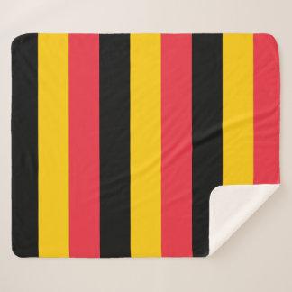 Cobertor Sherpa Cobertura patriótica de Sherpa com bandeira de