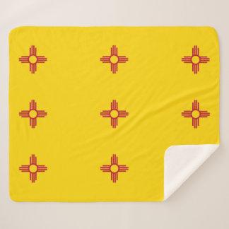 Cobertor Sherpa Cobertura patriótica de Sherpa com bandeira de New