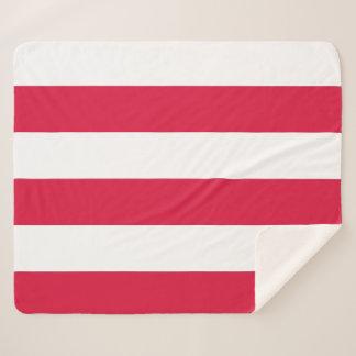Cobertor Sherpa Cobertura patriótica de Sherpa com bandeira do